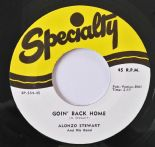 "45Re ✦ALONZO STEWART✦ "" Love Me Baby/Goin' Back Home"" Killer Jump Blues Rockers♫"